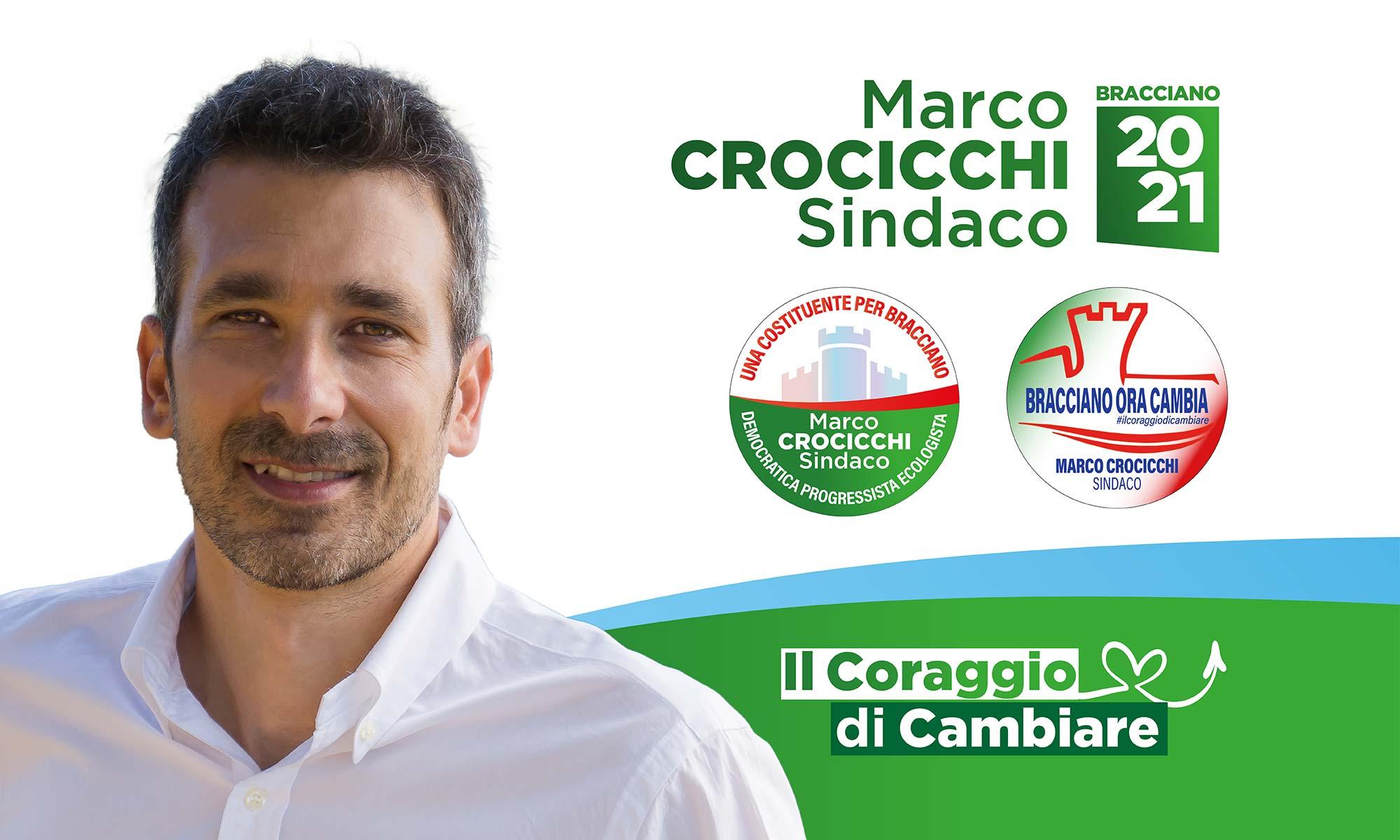 Marco Crocicchi Sindaco - Bracciano 2021