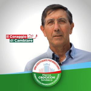 """Alberto Leoni, candidato per Marco Crocicchi Sindaco nella lista """"Una Costituente per Bracciano""""."""